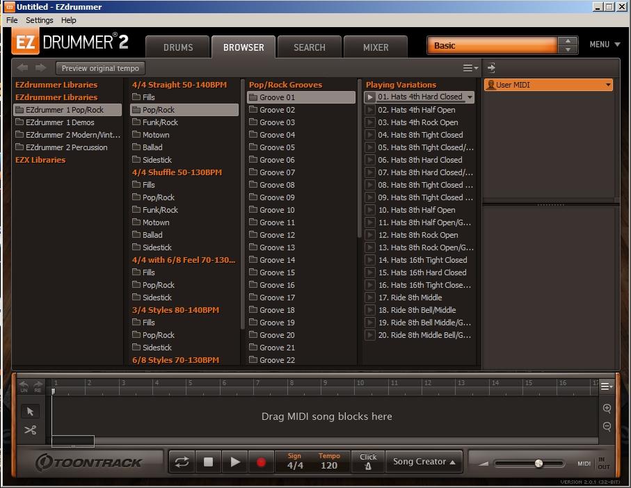 Toontrack ezdrummer 2 v2.0.0 + crack pc